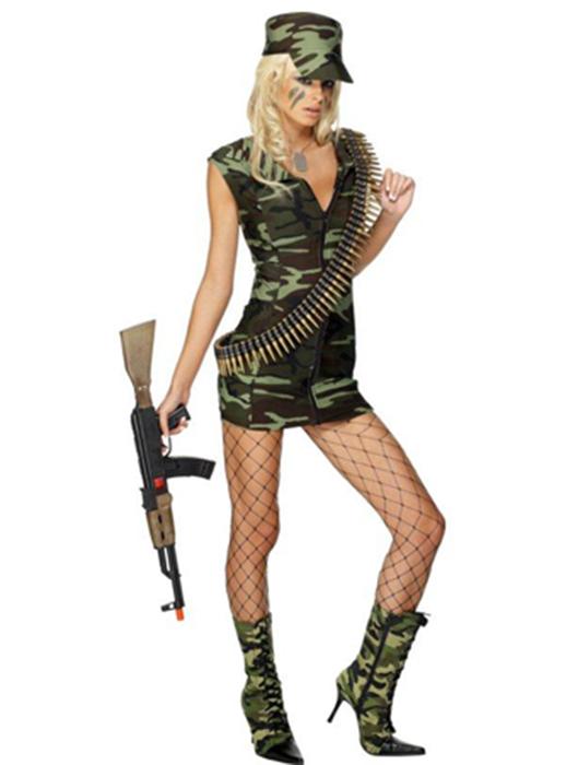 Сексуальные костюмы милитари