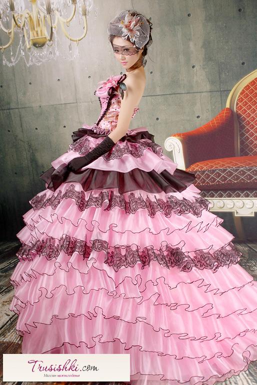 Бальные платья с пышной юбкой