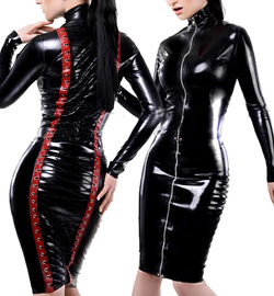 Латексный костюм женский купить