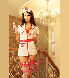 Сексуальны костюм медсестрички