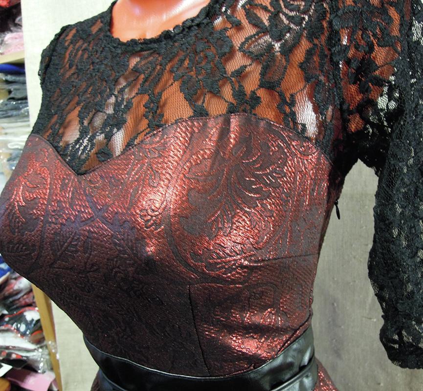 ..Модный принт Платье 3