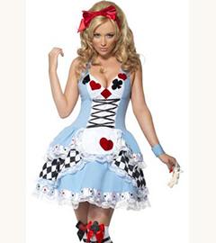 Алиса в Зазеркалье костюм