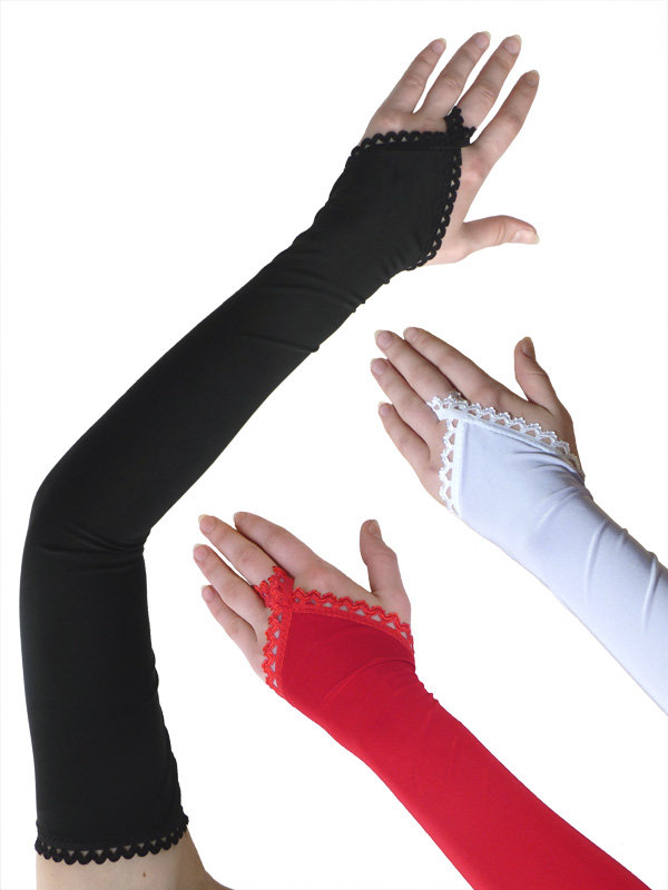Сшить перчатки на один палец 677