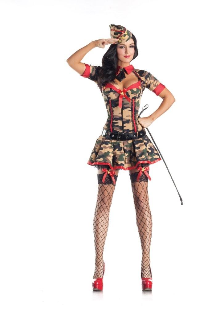 Эротический костюм милитари фото 786-576