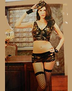 Эротический костюм милитари фото 786-695