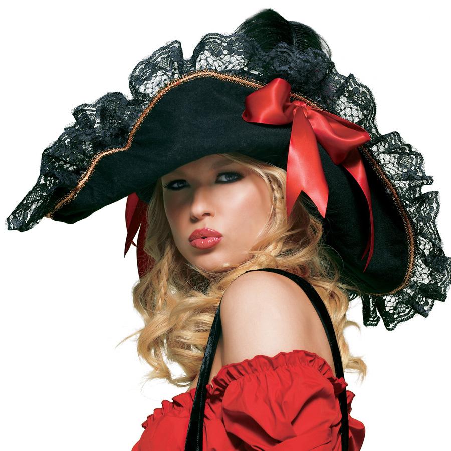 Как сделать дома пиратскую шляпу